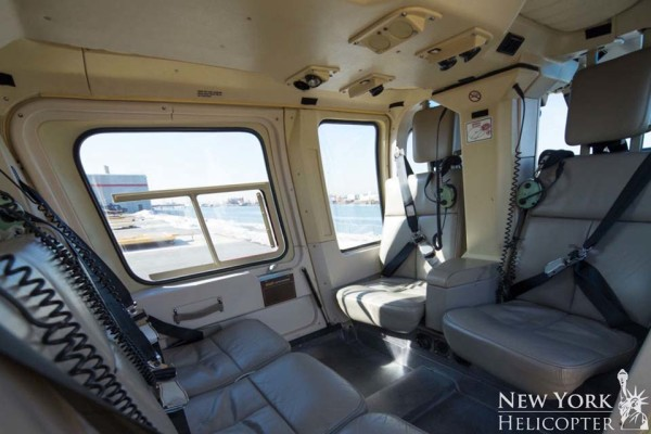 Interior of a New York Heliopter