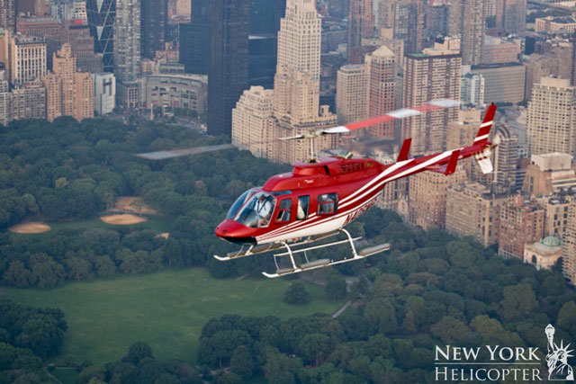 New York Helicopter at Central Park