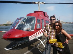 Helicopter for couples
